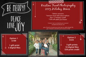 www.KristineFreed.com | 2013 Holiday Mini Sessions | Tampa Family Holiday Photographer