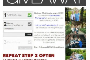 www.KristineFreed.com | Tampa Holiday Photographer | Holiday Mini Session Giveaway WINNER image 1