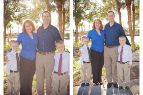www.KristineFreed.com | Tampa Riverwalk Family Holiday Mini Session | L Family image 8