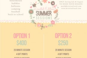 Tampa Summer Limited Edition Sessions, themed mini sessions, Kristine Freed Photography