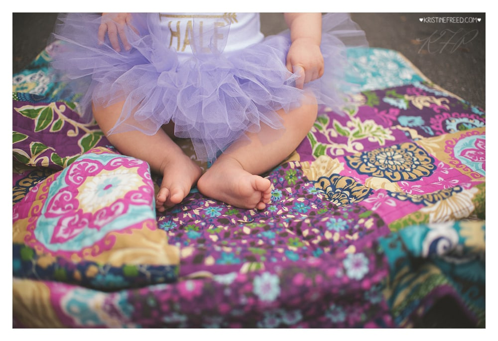Tampa Baby Six Month Photos, Kristine Freed Photography