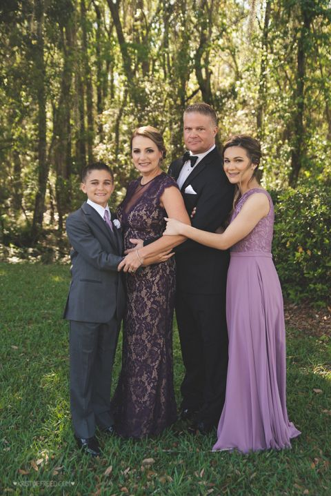 Tampa Formal Family Portraits, Kristine Freed Photography