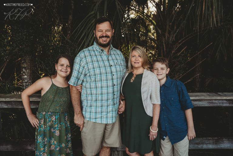 Wesley Chapel Outdoor Family Portraits, Kristine Freed Photography