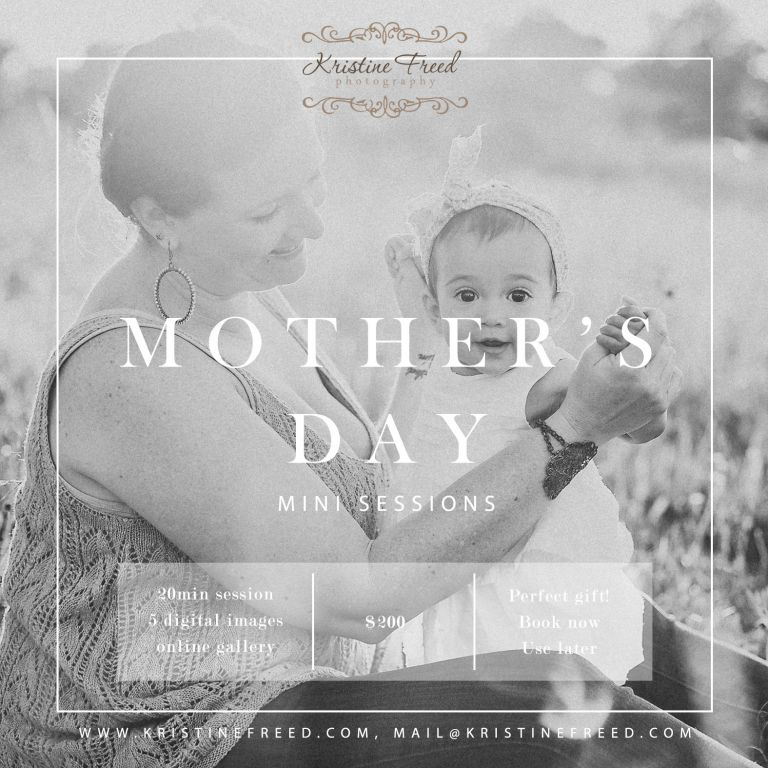 Tampa Mother's Day mini sessions